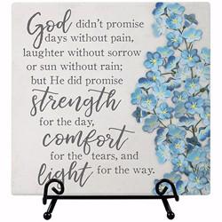 Plaque-Comfort Blessing...