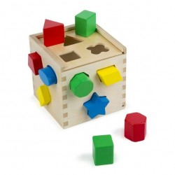 Toy-Shape Sorting Cube...