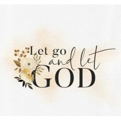 Canvas-Let Go And Let God...