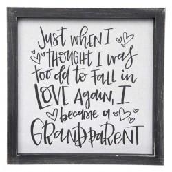 Framed Linen Sign-Became A...