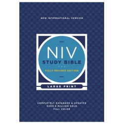 NIV Study Bible/Large Print...
