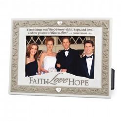 Photo Frame-Faith Hope Love...