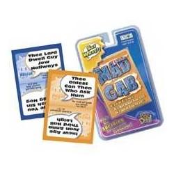Game-Bible Mad Gab Card...