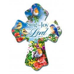 """Wall Cross-Sing For Joy (6""""..."""