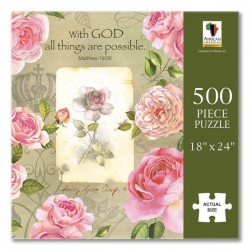 Jigsaw Puzzle-With God All...