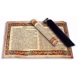 Parchment-Isaiah 53 Scroll...