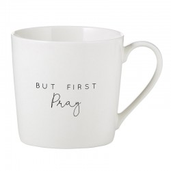 Mug-Cafe-But First Pray (14...