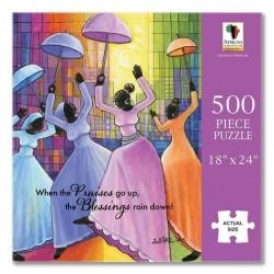 Jigsaw Puzzle-Praises Go Up...