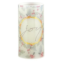 "LED Candle-Joy-Gift Boxed (6"")"