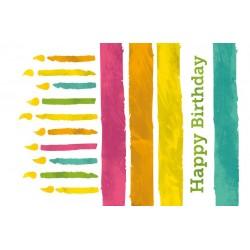 Postcard-Happy Birthday...
