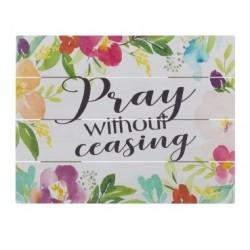 Rustic Pallet Art-Pray (9 x...