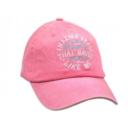 Cap-Amazing Grace-Pink