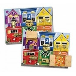 Toy-Latches Board (Ages 3+)