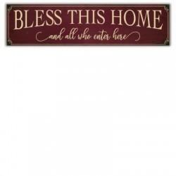 Over The Door Plaque-Bless...