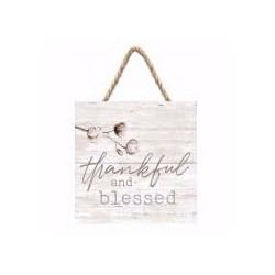 Jute Hanging Decor-Thankful...