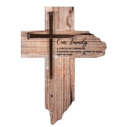 Wall Cross-Our Family...