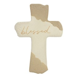 """Wall Cross-Blessed (10"""")"""